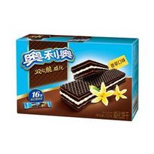 OREO 奥利奥 双心脆威化饼干 香草口味 232g 5.1元