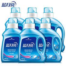 前1分钟# 蓝月亮 亮白增艳洗衣液瓶装1KG*6 18点 69元包邮(99-30)