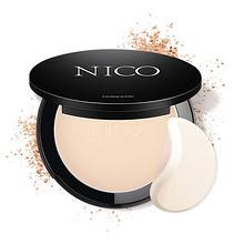 前10分钟半价# Nico 干湿两用粉饼控油定妆 15点抢 19.9元(39.9-40)