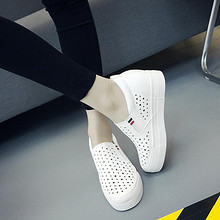 前10分钟# 夏季内增高百搭小白鞋 69元包邮(188-119)