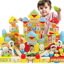 前5分钟半价# 丹妮奇特 生肖动漫积木大块玩具 39.9元(79.8-39.9元)