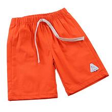 前1小时# 拍2件 儿童夏季棉麻短裤5分裤*2件 20点 19.2元包邮(第2件半价)