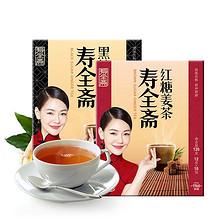 前3分钟# 寿全斋 红糖+黑糖姜茶 共2盒 19.9元包邮(29.9-10)