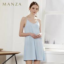 柔美性感# 玛伦萨 纯色棉质性感睡衣吊带  39元包邮(59-20券)