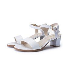 时尚于形# 大东 夏季时尚粗跟一字扣凉鞋4款 39元包邮(59-20券)