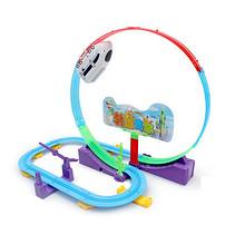 快乐成长# 怀乐 儿童仿真电动火车轨道玩具  28元包邮(38-10券)