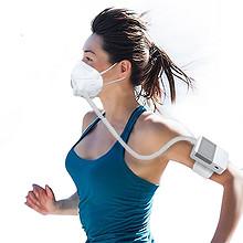 呼吸顺畅#优媤美 滤尘防霾移动便捷电子口罩 48元包邮(198-150券)