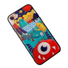 个性设计# iphone6/7包边防摔浮雕硅胶手机壳 11.9元包邮(21.9-10券)
