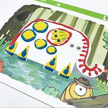 3D效果# 蛋生园 宝宝涂色AR立体绘画套装  38元包邮(58-20券)