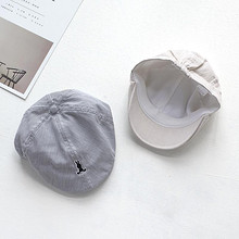 时尚萌宝# 春秋薄款儿童时尚贝雷帽  15元包邮(25-10券)