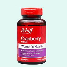 内在滋养# 美国进口Schiff 蔓越莓胶囊90粒 65元包邮(145-80券)
