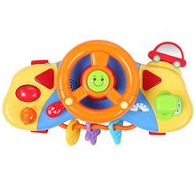 益智早教# 迪士尼 米奇宝宝欢乐方向盘玩具  44元包邮(59-15券)