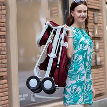 折叠轻便# 亿宝莱 可折叠便携式婴儿推车  199元包邮(249-50券)