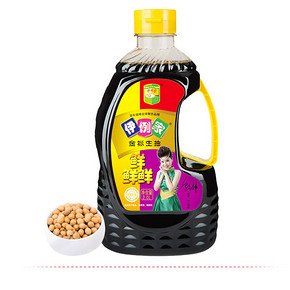 咸甜适口# 伊例家 金标生抽2L酿造酱油  15.8元包邮(18.8-3券)