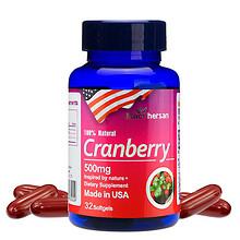 美国进口# 麦弗逊 蔓越莓软胶囊32粒 56元包邮(86-30券)