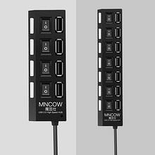 高速传输# USB3.0独立开关分线器多接口集线器 13.9元包邮(18.9-5券)