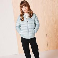 双11预售# Balabala 巴拉巴拉 大童轻薄短款羽绒服   149元(定金20+尾款129)