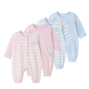 双11提前加购# YEEHOO 英氏 纯棉婴儿连体衣 2件装 149元