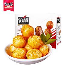 Q弹爽口# 食在过瘾 即食Q爽鱼丸小吃320g 18元包邮(28-10券)