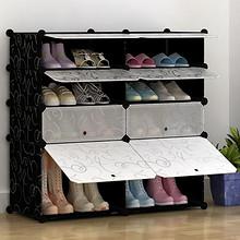 双11好货# 简易鞋架组合创意鞋子收纳柜双排 58.4元(83.4-25券)