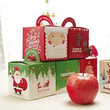 白菜价# 平安夜苹果创意包装盒25个 5元包邮(7-2券)