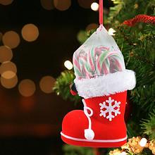 缤纷色彩# 圣诞创意礼物靴子拐杖棒棒糖礼盒  17.9元包邮(32.9-15券)