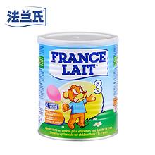 黑色星期五# FRANCE LAIT 法兰氏婴儿奶粉400g3段  55元包邮(85-30券)