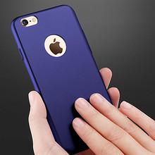 细腻磨砂# senkang 苹果6p情侣纯色软硅胶磨砂手机壳  14元包邮(24-10券)