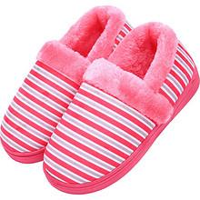舒适保暖# 冬季包跟保暖情侣棉拖鞋2双  28.9元包邮(31.9-3券)