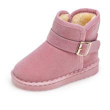 舒适保暖# 木木屋 儿童加绒加厚雪地靴  49.9元包邮(69.9-20券)
