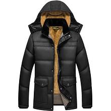防风保暖# 金格瑞 中年爸爸装冬季棉服冬装加绒加厚  59元包邮(79-20券)