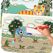 告别传统# 蛋生园 宝宝AR画画3D绘本套装  19.9元包邮(39.9-20券)