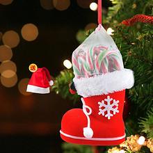 圣诞必备# 圣诞创意礼物靴子拐杖棒棒糖礼盒  17.9元包邮(27.9-10券)