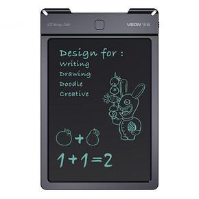 真实触感# VSON 儿童液晶电子手写绘画板9寸  49.9元包邮(89.9-40券)