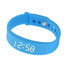 智能防水# 睡眠健身运动计步手环 33元包邮(38-5券)