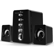 震撼低音# 新科 家用无线蓝牙插卡音箱低音炮  79元包邮(99-20券)