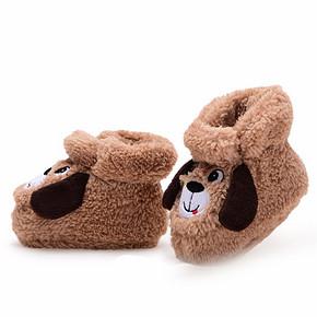 柔软舒服# 木木屋 儿童软底学步棉鞋    19.9元包邮(59.9-40券)