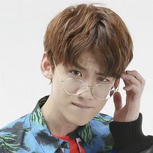 复古时尚# 白敬亭同款防蓝光防辐射复古圆框眼镜 16.9元包邮(19.9-3元券)