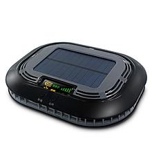 智能检测# 汽车太阳能车载空气净化器除甲醛去异味  58元包邮(98-40券)