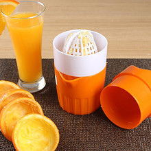 墅乐 家用榨橙器柠檬水果手动榨汁机 14.9元包邮(19.9-5券)