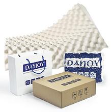 透气舒适# Dayjoy 泰国进口天然橡胶枕头 35元包邮(85-50券)