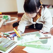 益智早教# 蛋生世界 AR儿童阶梯图画涂鸦涂色本  19.9元包邮(29.9-10券)