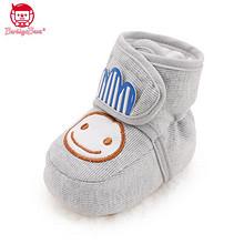 柔软舒适# 芭比班纳 彩棉婴儿鞋防滑软底学步前鞋  22元包邮(32-10券)