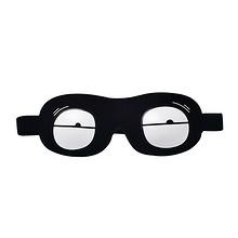 色彩缤纷# 睡眠遮光透气3D立体眼罩可爱搞怪眼罩  6.9元包邮(9.9-3券)