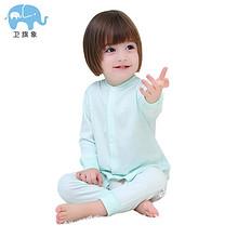 细腻轻薄# 婴儿连体衣春秋男女宝宝纯棉长袖睡衣  24.9元包邮(39.9-15券)