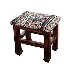简约百搭# 福瑞福 家用客厅实木小矮凳换鞋凳  49元包邮(59-10券)