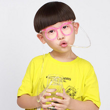 清凉有券# 双童眼镜吸管一次性创意吸管5包  11.9元包邮(14.9-3券)
