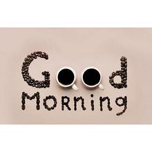 早安帖#  问好是一件正经事 一想到接下来会有开心的事情等着我,我就能每天都努力着。