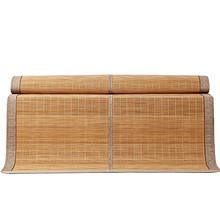 送枕套# 贝珠儿 双面可折叠碳化竹席凉席 1.5/1.8/2m  69元包邮(119-50券)
