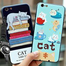 双重保护# iphone男女款卡通猫i硬壳浮雕手机壳  9.9元包邮(19.9-10券),内附好价单品推荐!